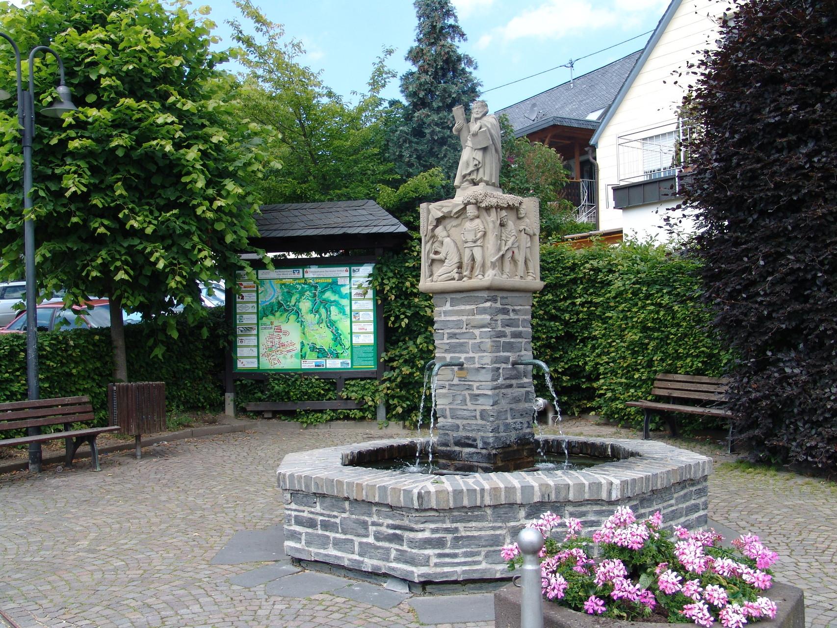 """Andreasbrunnen auf der """"Gott"""""""