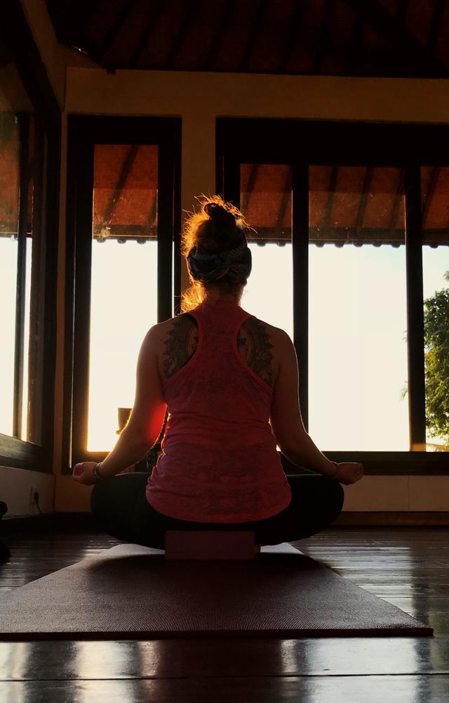 Für alle, die mal in Ubud zum Yoga wollen, dieses Studio lohnt sich sehr!