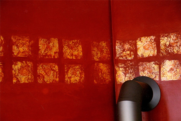 Wandgestlatung Nahaufnahme   © Andrea Back
