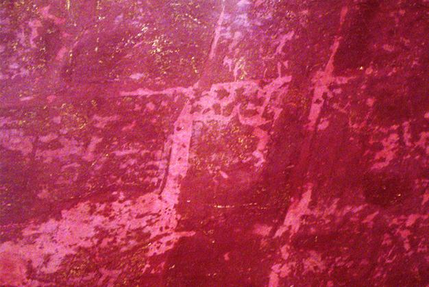 Wandgestaltung Nahaufnahme   © Andrea Back