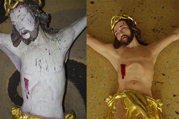 Restaurierter Jesus   © Andrea Back
