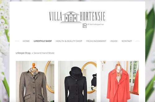 Villa Hortensie - Shop