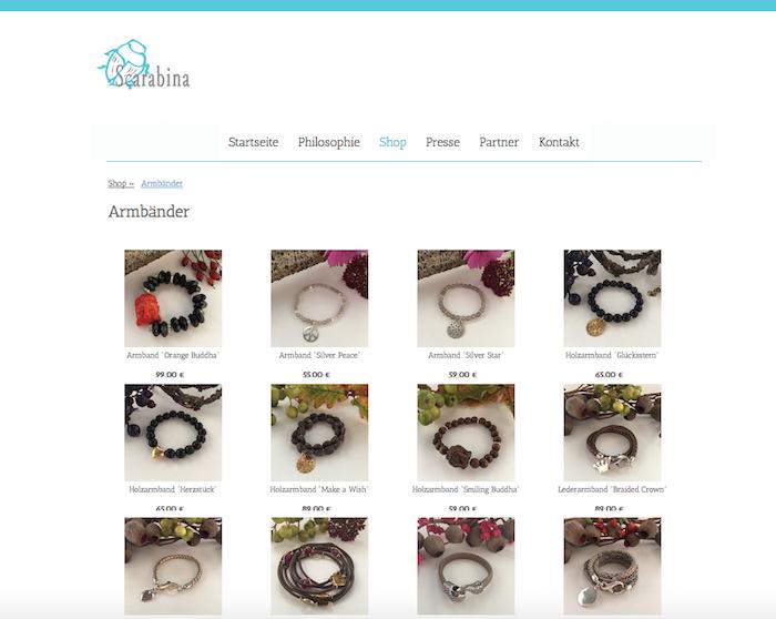 Schmuckdesign - Shop