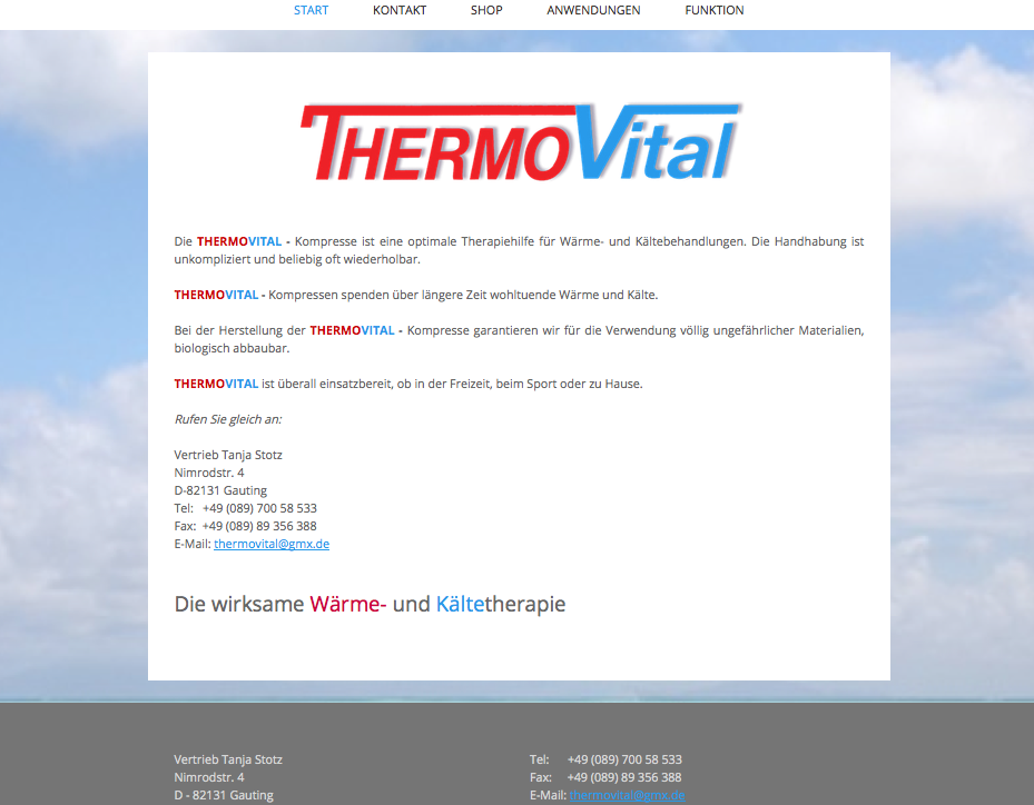 Thermovital - Shop