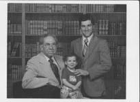 William Wray Sr-W A Wray III-W A Wray Jr 3 Generations of the Billy Wray Music Shop