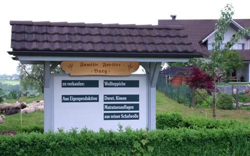 Schafwollprodukte Niederbüren
