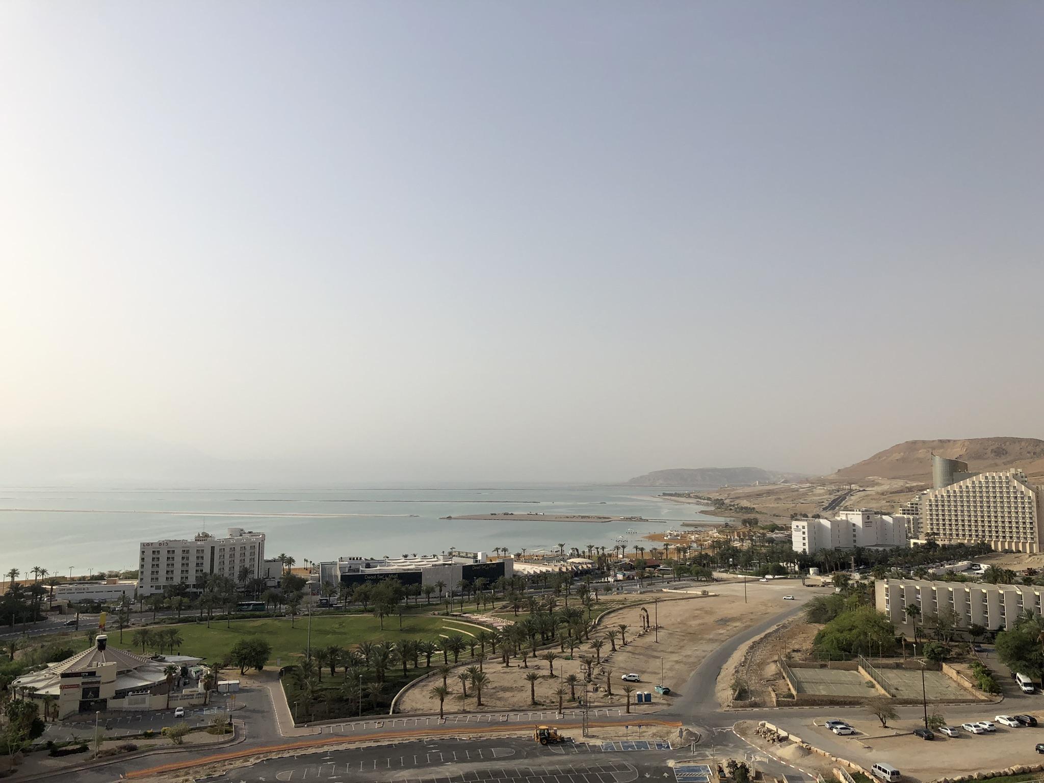 Blick auf das Tote Meer