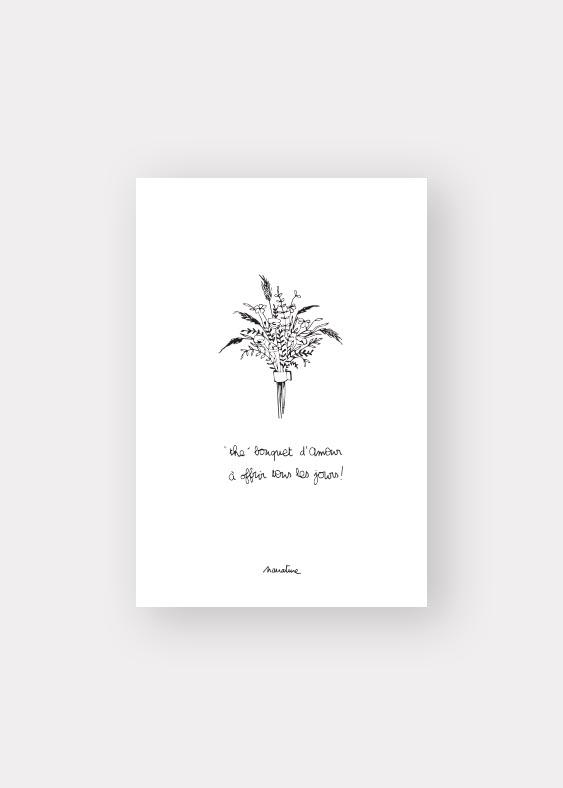 the bouquet d'amour