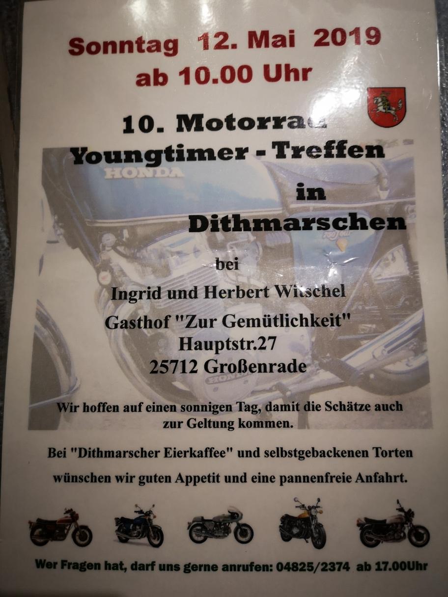 10. Motorrad Youngtimer - Treffen in Dithmarschen
