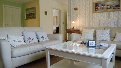 Das Wohnzimmer der Villa Verde...