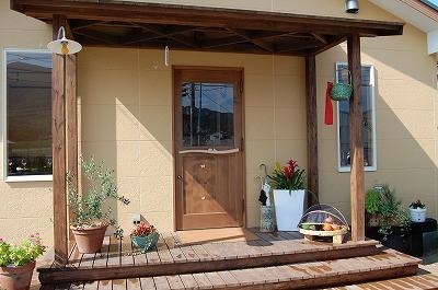 イタリアン 木製ドア