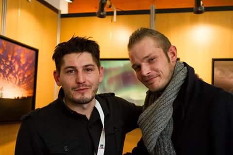 Avec Mister foudre Nicolas Gascard en 2014