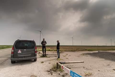 Avec Nils Pigerre un jour d'orages