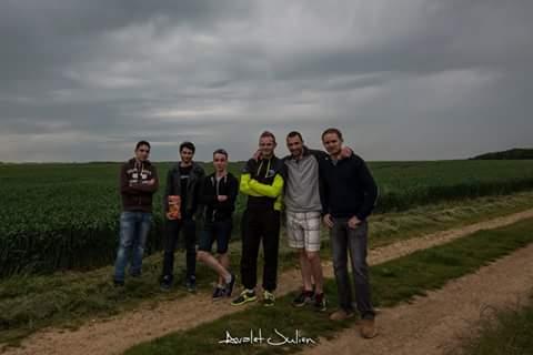 Avec quelques chasseurs francophones
