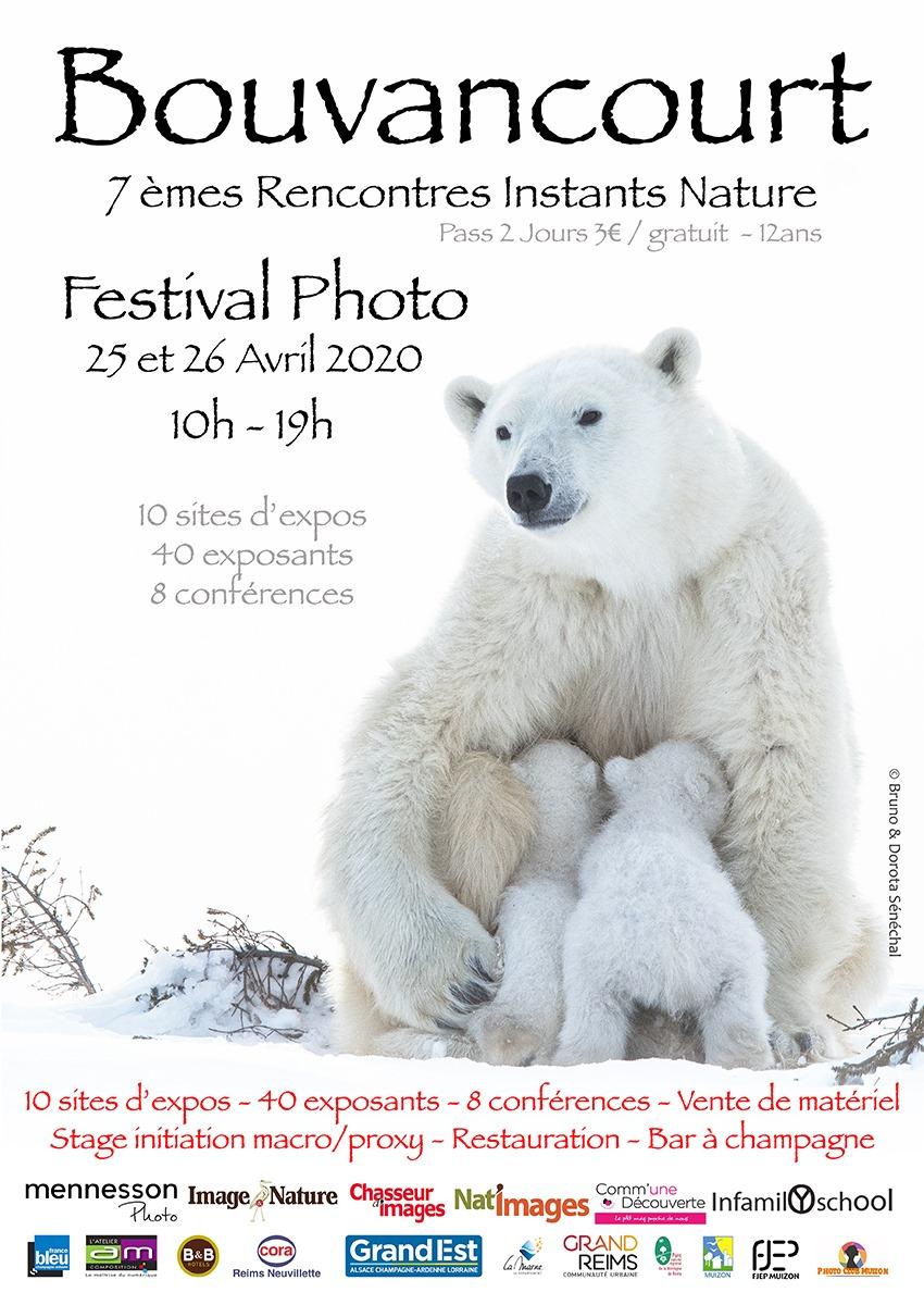 J'ai l'honneur et le grand plaisir de vous annoncer ma sélection pour le festival photo de Bouvancourt (51) qui se déroulera les 25 et 26 avril 2020.