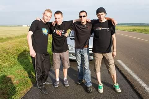 Avec les copains Lorrains en 2013