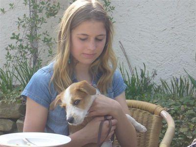Julia mit Kismo