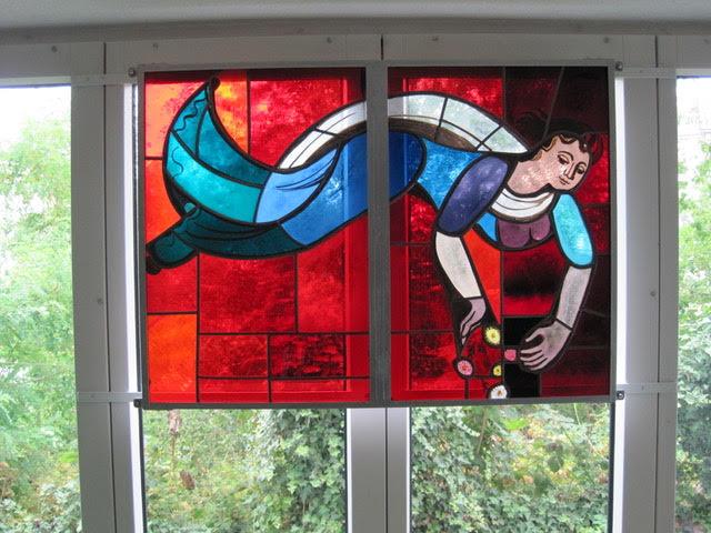 """Haus 4: """"Meerjungfrau"""" von Otto Steiger"""