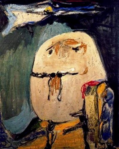 Asger Jorn, Guillaume Apollinaire (1956)