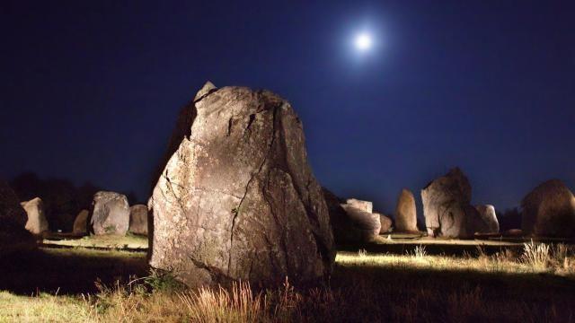 Les mégalithes de Carnac (France)