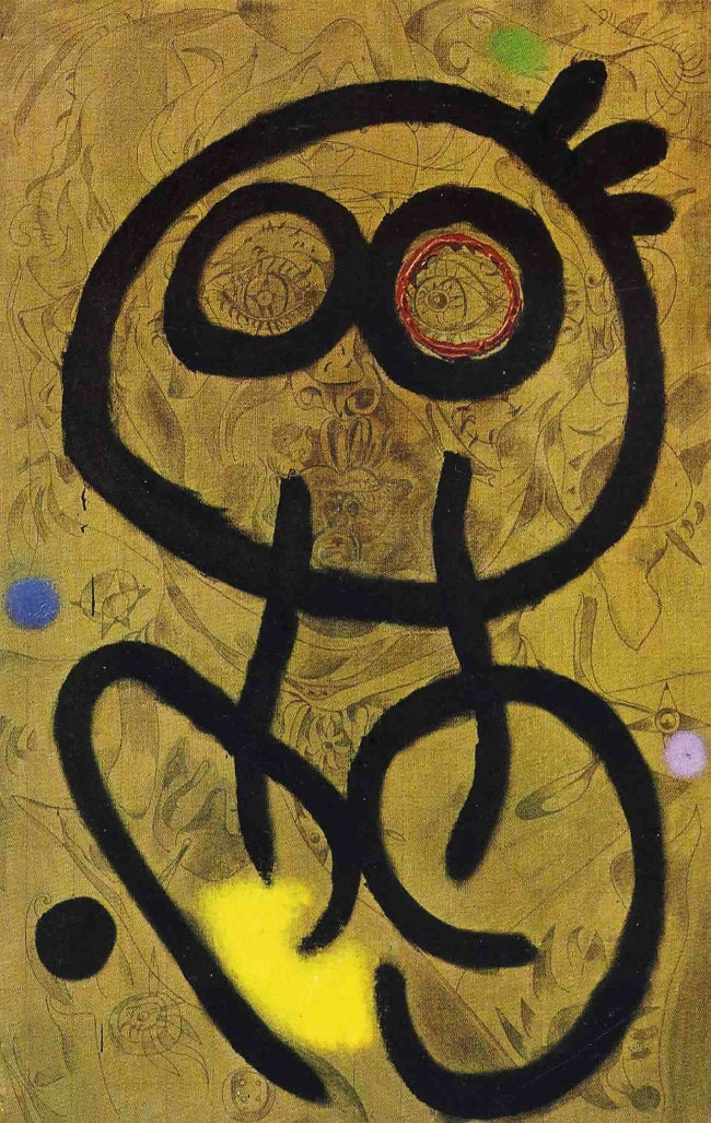 Joan Miro - Autoportrait - 1937/1938~1960
