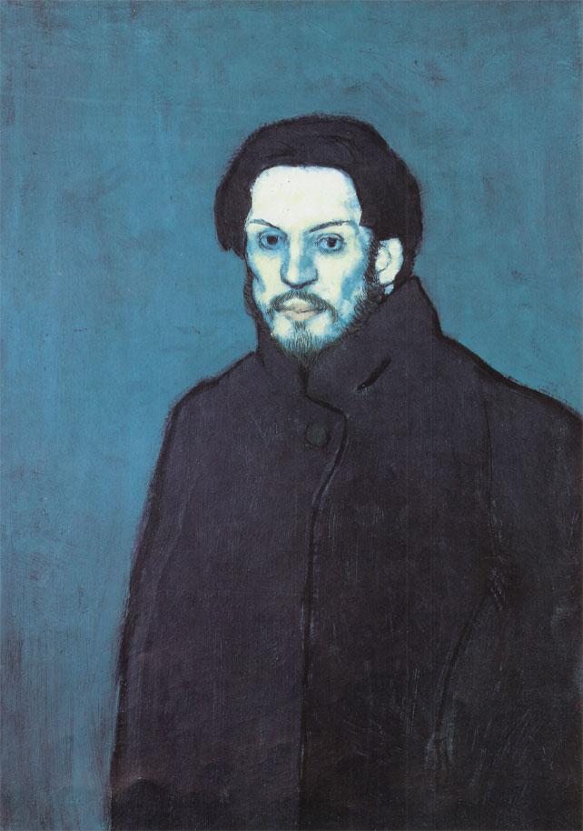 Pablo Picasso - Autoportrait - 1901