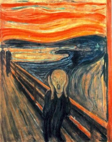 Edvard Munch, Le cri (1893)