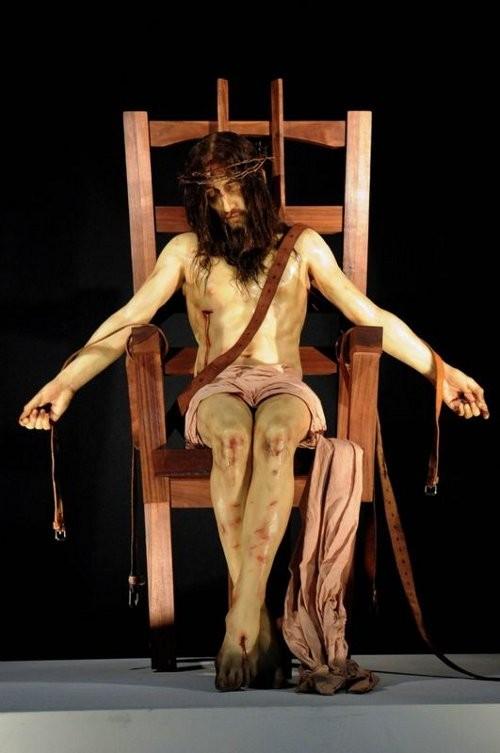le christ et la chaise électrique