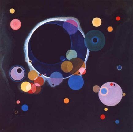Kandinsky, Quelques cercles (1926)
