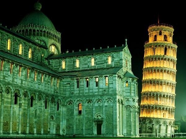La tour penchée de Pise (Italie)