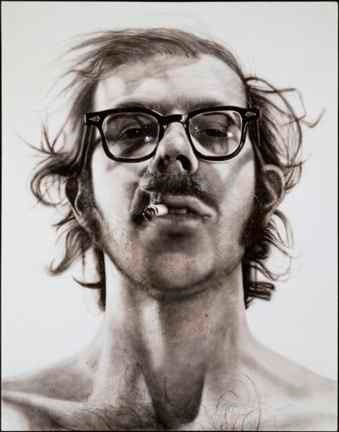 Chuck Close, Self Portrait (1967-1968)