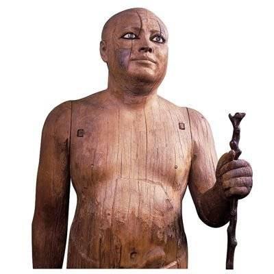 la statue du grand prêtre kaaper sheikh el-beled
