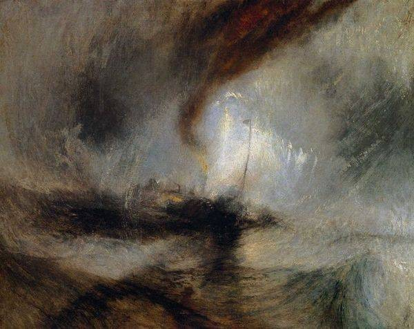 analyse d'oeuvre william turner