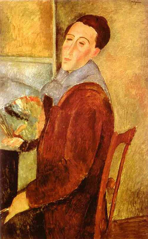 Amedeo Modigliani - Autoportrait - 1919