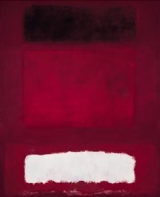 Rothko rouge balnc et brun