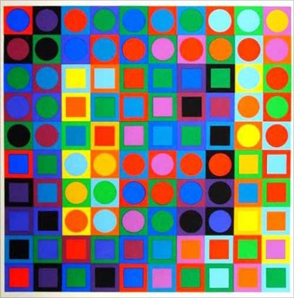 Vasarely, Marc Positive (?)