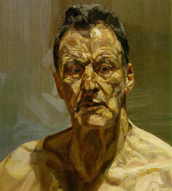Lucian Freud - Autoportrait - 1985