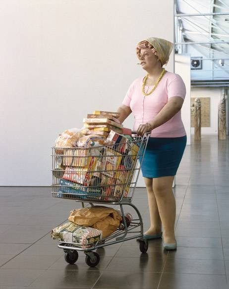 supermarket shopper duane hanson