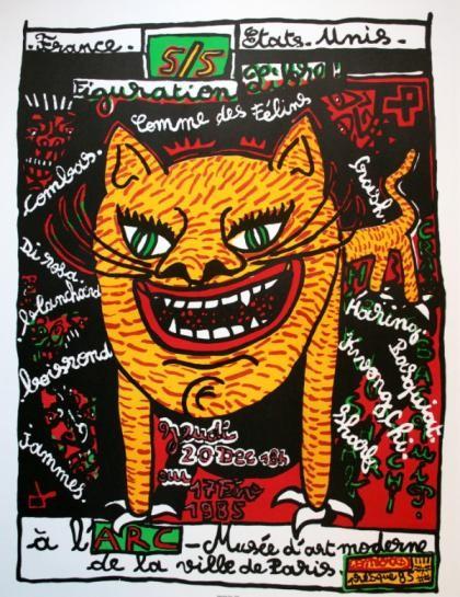Combas, Comme des félins (1984-1985)