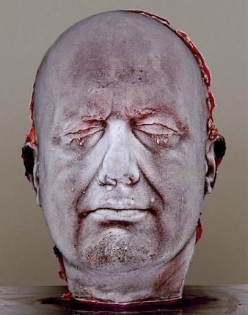 tête de sang autoportrait marc quinn