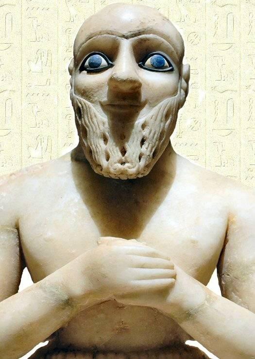 La statue d'Ebih-II L'intendant