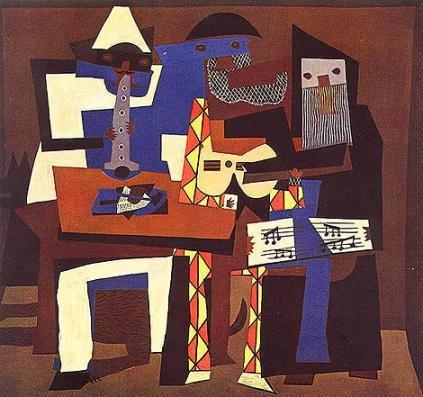 Picasso, Trois musiciens (1921)