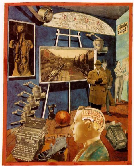 Raoul Hausmann, Dada Siegt (1920)
