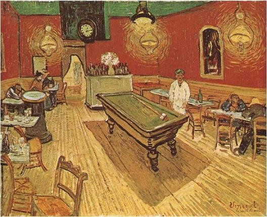 Van Gogh, Café de nuit (1888)