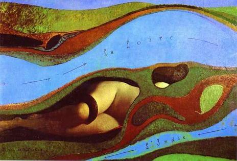 Le jardin de la France (1962) max ernst