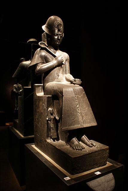 La statue de Ramsès II