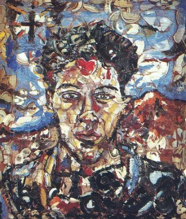 Schnabel, Portrait d'Eric (1987)