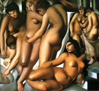 Femmes au Bain (1926) tamara de lempicka
