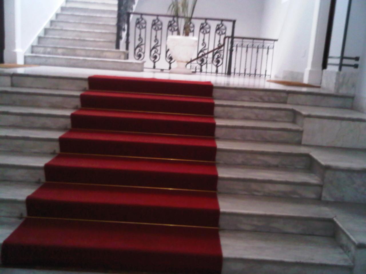 Scala entrata, via Milano 44 - Catania