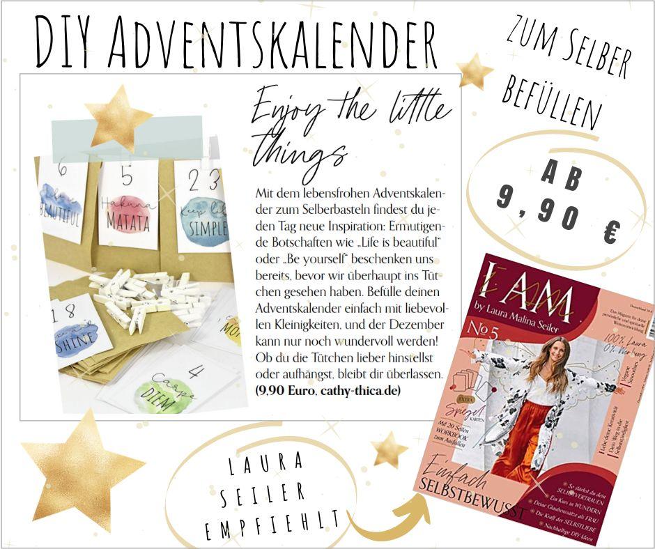 Empfehlung Laura Malina Seiler Adventskalender DIY